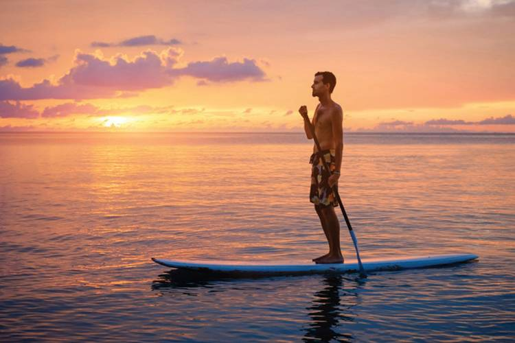 Cayman Islands Paddleboarding