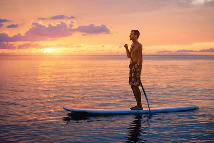 Cayman Islands Paddleboarding